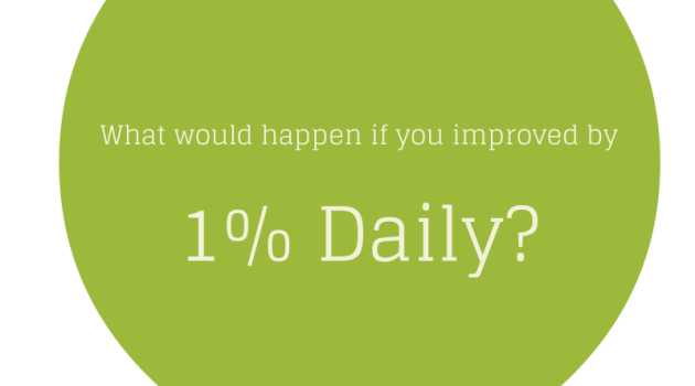 Podcast: What Would Happen if You Improved by Just 1% Everyday?